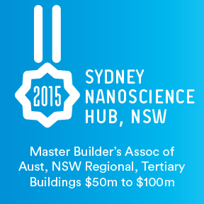 2015 Master Builder's Association of Australia New South Wales Regional Award