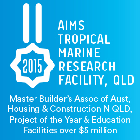 Awards AIMS Tropical Marine Research Facilities