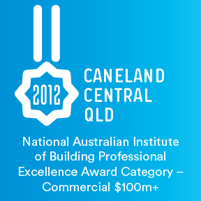 2012 National Australian Institute of Building Professional Excellence Award