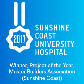 SCUH, Winner, Project of the Year, MBA (Sunshine Coast)
