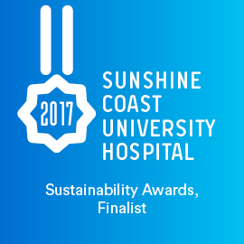 SCUH, Sustainability Awards, Finalist