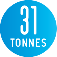 Key Fact 31 Tonnes