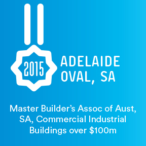2015 Master Builder's Association of Australia South Australia Regional Awards