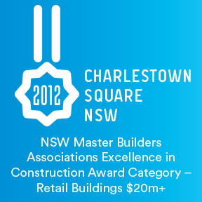 2012 NSW Master Builders Associations Excellence in Construction Award