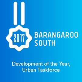 Barangaroo South, Development of the Year, Urban Taskforce
