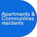 430,000 Approximate number of residents across Apartments and Communities (An estimate of current and future residents based on our projects to date and existing pipeline)