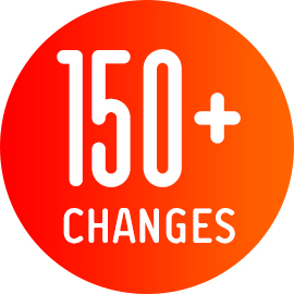 Key Fact 150+ Changes
