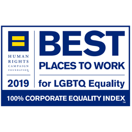 2019 Best Places to Work for LGBTQ Equality